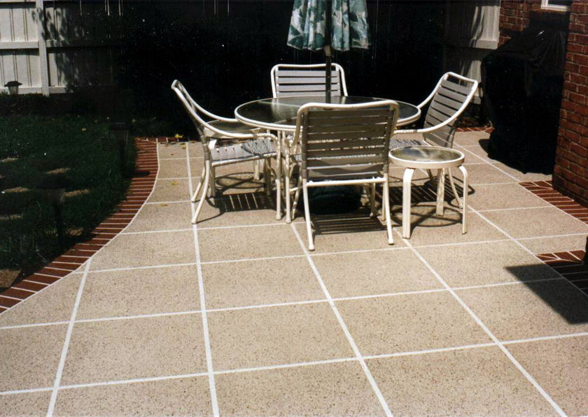 Backyard Patio Tiles : Patio Material and Advantages  About Patio Designs Contemporary Deck