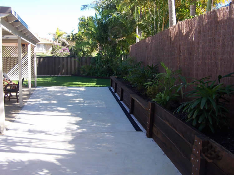 Plain Concrete Patio