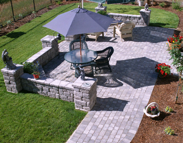 Stone Patio Design Ideas 17 best ideas about paver patio designs on pinterest backyard pavers brick paver patio and pavers patio Advantages About Patio Designs Contemporary Deck And Patio Ideas Stone